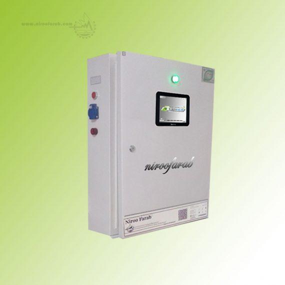 سیستم کنترل اقلیم هوشمند گلخانه مدل mini