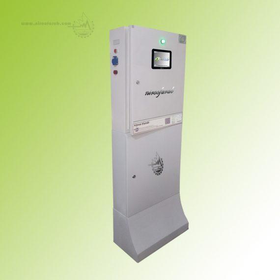 سیستم کنترل اقلیم هوشمند گلخانه نیروفراب