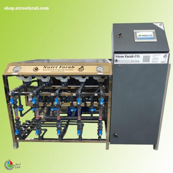 ماشین تغذیه و آبیاری هوشمند مدل F532
